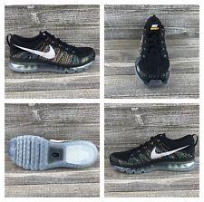 eab249c6a258e Nike Flyknit Air Max Black Multi-Color Running Shoes [620469-015] Men's