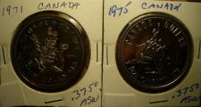 Two Silver Canada Coins