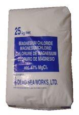 MAGNESIUM CHLORIDE HEXAHYDRATE Flake MgCl2 25kg DEAD SEA SALT Bath Skin Soak Ice