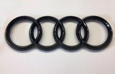 Audi Ringe Schriftzug Zeichen schwarz Kühlergrill A3 S3 RS3 A4 S4 RS4 A5 S5 RS5