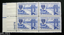 Sc # 1012 ~ Plate # Block ~ 3 cent Engineering Centennial Issue (bc31)