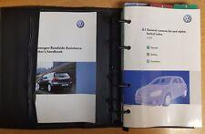 GENUINE VW GOLF  HANDBOOK OWNERS MANUAL WALLET 2004-2008 PACK A-377 !