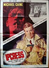 IPCRESS FILE Italian 2F movie poster 39x55 R72 MICHAEL CAINE RENATO CASARO Art