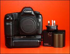 Cámara SLR Canon EOS 5D D de fotograma completo-solo cuerpo + batería Grip Canon BG-E4