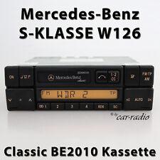 Original Mercedes Classic BE2010 Cc W126 Autoradio CLASSE S C126 Radio Cassette