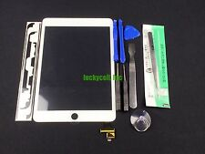 White Replacement Glass Touch Screen Digitizer With IC for iPad Mini 3 + Tools