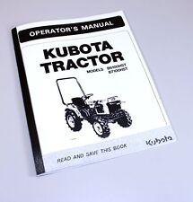 heavy equipment manuals books for kubota rotary mower for sale ebay rh ebay com  kubota l3010 service manual download