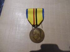 belle medaille congo belge
