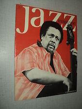 JAZZ  MAGAZINE 207 (1/73) CHARLES MINGUS JOHN COLTRANE ORNETTE COLEMAN LACY BLEY