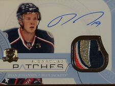 "2011-12 UPPER DECK ""THE CUP"" HOCKEY - RYAN JOHANSEN SIGNATURE PATCH CARD   #4/75"