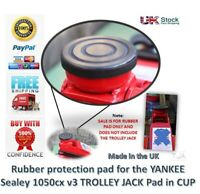 For Sealey 1050CX Car Trolley Jack 2 Tonne Low Entry - Jack Pad Jacking pad
