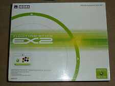 MICROSOFT XBOX 360 HORI EX2 Fighting Stick USB Joystick Joy FIGHT ARCADE BLANC B