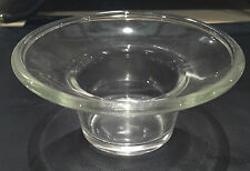 2x OIL BURNER SPARE DISH TOP - GLASS