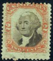 1862-71 US Revenue  2c George Washington Inter Rev  Scott# R151 INV#GB