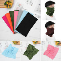 Multifunctional Tube Scarf Bandana Head Mask Neck Gaiter Snood Headwear Beanie