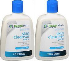 Health Mart Gentle Skin Cleanser 16 oz FRAGRANCE FREE (2 PACK) ***