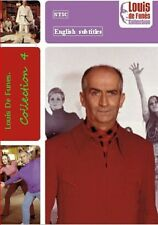 Louis De Funes. Collection 4.  French. Optional English subtitle NTSC  or  PAL
