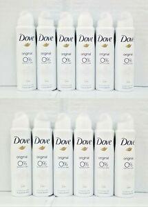 12-Dove Original 0% Aluminium Salts Deodorant & Body Spray 24H FRESH 150ml
