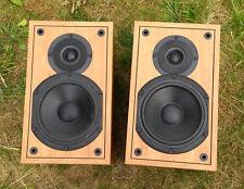 """TEAC LS-500U 110W RMS Stereo Speakers 7"""" Bass Reflex 1"""" Dome Tweeter 6 Ohm LS500"""