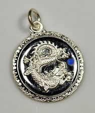 Chinese Dragon Zodiac sign ARIES Sterling Silver 925 Blue Sappire charm Jewelry