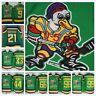 Ice Hockey Jerseys Mighty Ducks Movie Jerseys 9 21 33 44 66 96 99 Stitched USA