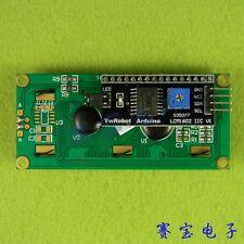 Free Shiipping 1lot=2pcs 1pcs 1602 16x2 HD44780 Character LCD blue + 1pcs IIC/I2
