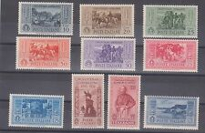 Italy sc#280-#289 mint 1932 50th anniv death of Garibaldi lh og f/vf high cat