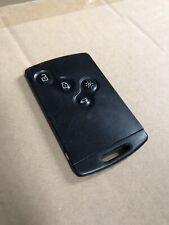 Genuine Renault Key Card Case 4 Button Remote Locking Key Fob
