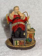 Norman Rockwell's Celebration of Santa Ornament- Santa's Snack- 1994