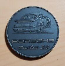 Porsche Münze Medaille 1993 Porsche 911 Turbo 3.6 - ORIGINAL