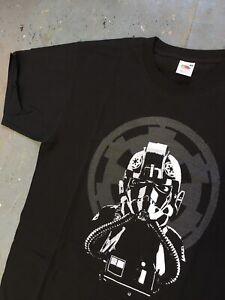 Star Wars T-shirt Size L Never Worn Tie Pilot  Mandalorian