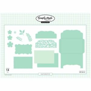 Simply Made Crafts Die Set Large Envelope Set of 14 Special Occasions Collection