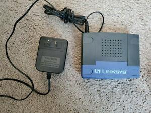 Linksys Switch EFAHO5W V2 5-Port Workgroup Hub, Used.