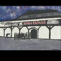Spiders nightclub Hull. Postcard of original painting . Limited edition of 100