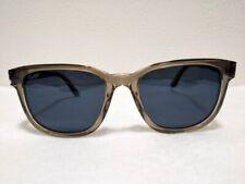 Cartier Authentic Unisex Blue lens Sunglasses Clear gray New Unused