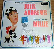 THOROUGHLY MODERN MILLIE: SOUNDTRACK LP RECORD: JULIE ANDREWS 1967