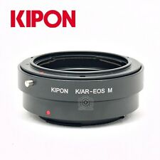 Kipon Adapter for KONICA AR Mount to Canon EOS M Interchangeable Digital Camera
