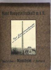 Nast  Baugesellschaft m.b.H. Schornsteine Saarbrücken Dortmund