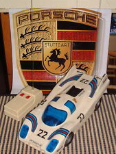 "ASAHI RADIO CONTROLLED PORSCHE 917 K 14"" FULLY FUNCTIONING ANTIQUE MODEL IN BOX!"