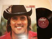 Crash Craddock - Self-Titled S/T, 1981 Country LP, Nice EX!, Vinyl