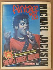 MICHAEL JACKSON Bad Tour AINTREE '88 Magazine & Poster