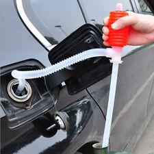 Car Manual Hand Siphon Pump Hose Gas Oil Liquid Syphon Transfer Pump Portable