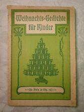 Weihnachts- Gedichte und Lieder zum Heiligen Weihnachtsfeste für die Jugend