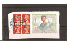GB QEII  70th Birthday,Fine Used on piece Machin Booklet pane. Issued 21/04/96
