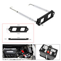 Battery Tie Down w/Hold Down Rods Tray Hooks Kit For Honda Civic CRX Acura RSX