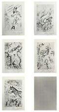 """MARC CHAGALL """"LETTRE A"""" 1969 