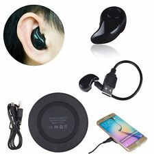 QI Wireless Charger Pad + Wireless Mini Stereo Headset for Apple iPhone 8 Plus X