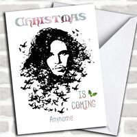 Game Of Thrones Jon Snow Christmas Coming Personalized Christmas Card