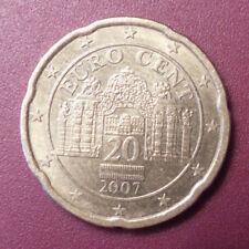 Einzelne Kursmünzen Aus österreich Ohne Modifizierter Euro Artikel