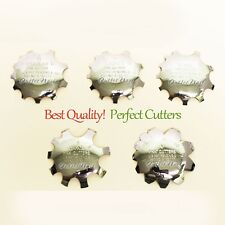 Q-French Pink Cutters 5pcs: REGULAR+MEDIUM+SUPER+OVAL+V Nails Acrylic Cut Tool